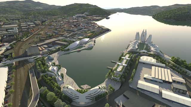 Dunedin Waterfront Vision