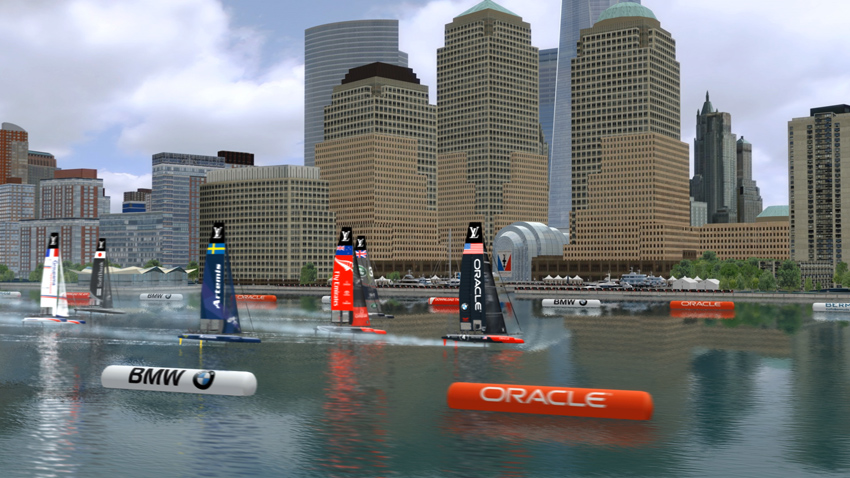 America's Cup racing in New York