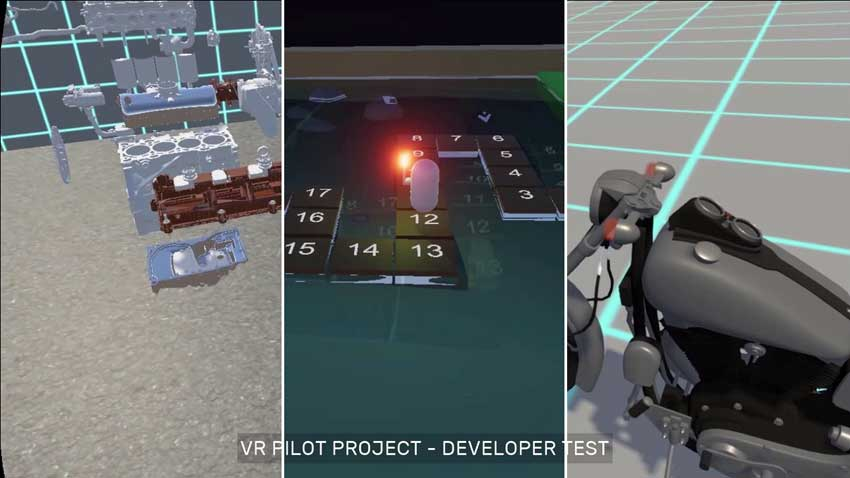 VR Learning Progress Report